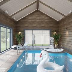 eclectisch Zwembad door Студия авторского дизайна ASHE Home