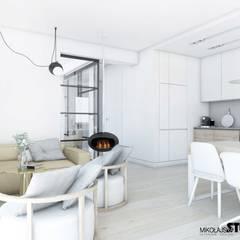 minimalistyczna kuchnia: styl , w kategorii Kuchnia na wymiar zaprojektowany przez MIKOŁAJSKAstudio