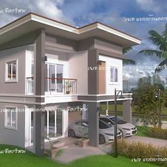 Single family home by แบบบ้านออกแบบบ้านเชียงใหม่