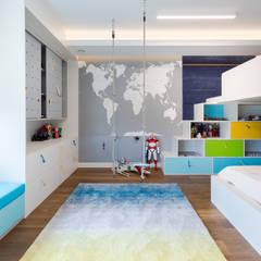 Dom w Gdyni 2017: styl , w kategorii Pokój dla dziecka zaprojektowany przez formativ. indywidualne projekty wnętrz
