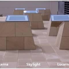 Lucernario - Skylight - Lucarne: Centros comerciales de estilo  de ARENISCAS STONE