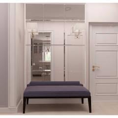 Светлая квартира с зонированием гостиной: Коридор и прихожая в . Автор – Альбина Романова