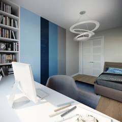 Projekty,  Pokój dla chłopca zaprojektowane przez Clarte Design