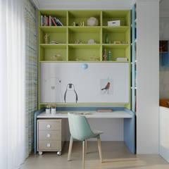ห้องนอนเด็ก โดย Clarte Design,