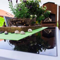 Entspannen im Grünen:  Zen garten von Pomp & Friends - Interior Designer