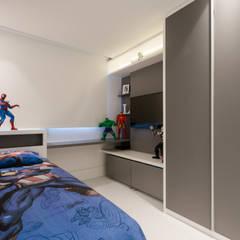 modern Nursery/kid's room by Daniela Andrade Arquitetura