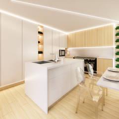 Kitchen by MIA arquitetos