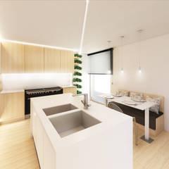 置入式廚房 by MIA arquitetos
