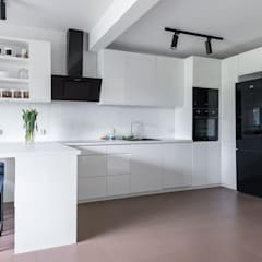 KUCHNIA: styl , w kategorii Kuchnia na wymiar zaprojektowany przez MK Design Magdalena Kostyra