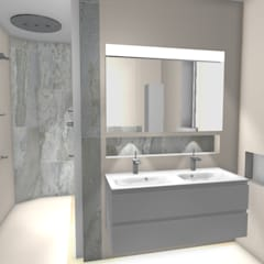 Case Study: Richmond Ensuite, TW9:  Bathroom by BathroomsByDesign Retail Ltd