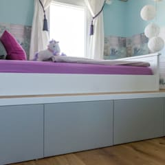 Kleine Prinzessin:  Kinderzimmer Mädchen von Pomp & Friends - Interior Designer