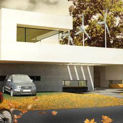 CASA BIO: Casas ecológicas de estilo  por Speziale Linares arquitectos