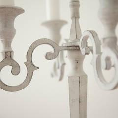 APARTAMENTO OVALLE: Salas de estilo  por Maria Teresa Espinosa