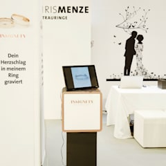 Messestand:  Messe Design von bp Innenarchitektur Petra Blome