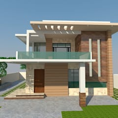 Residence - Mr. S. Narayan:  Villas by S. KALA ARCHITECTS