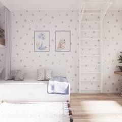 LIGHT AND BLUE:  Jugendzimmer von Tobi Architects
