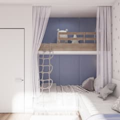 Teen bedroom by Tobi Architects
