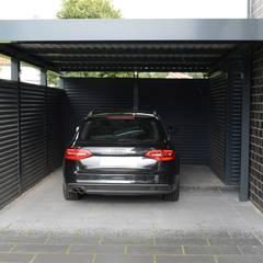 Carport oleh Schmiedekunstwerk GmbH, Modern Besi/Baja