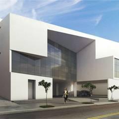 ESCRITÓRIO LGW: Espaços comerciais  por MMEB arquitetos