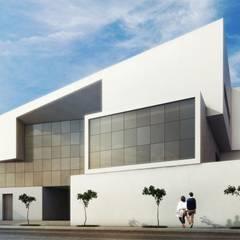 ESCRITÓRIO LGW: Edifícios comerciais  por MMEB arquitetos