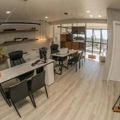 Ruang Komersial Modern Oleh iM2 arquitetura Modern