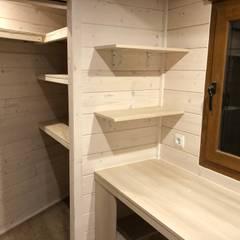 Caseta de madera habitable Barcelona : Habitaciones de niños de estilo  de Grupo Dancu 2017 S.L