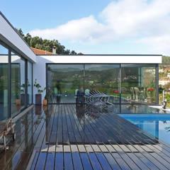 مسبح لانهائي تنفيذ AD+ arquitectura
