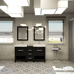 Bathroom:  Bathroom by 'Design studio S-8'