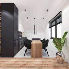 Projekt  poddasza domu w Libertowie.: styl , w kategorii Kuchnia zaprojektowany przez MADO DESIGN