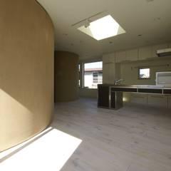 高井戸の家: (有)中尾英己建築設計事務所が手掛けたドアです。,モダン
