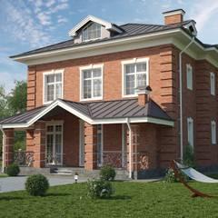 Дарли-1_304м2: Дома в . Автор – Vesco Construction,