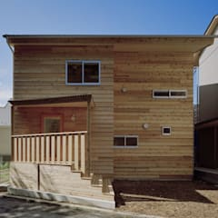 Casa di legno in stile  di 前田工務店
