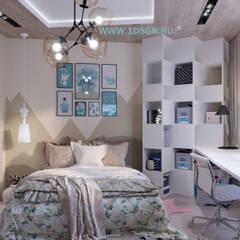ห้องนอนเด็ก โดย Дизайн студия 'Дизайнер интерьера № 1',