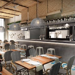 Bars & Clubs von Camiar Design, Modern