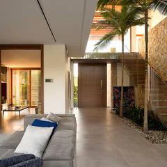 جدران تنفيذ Ruschel Arquitetura e Urbanismo