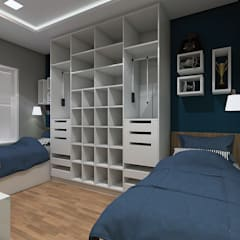 Boys Bedroom by LK Studio Arquitetura