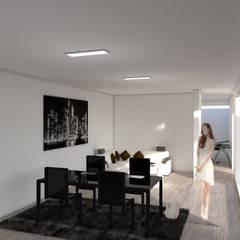 interiorismo: Salas de estilo  por ARCHIMINIMAL ESTUDIO