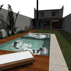 Patio: Piletas de jardín de estilo  por Küp Arq