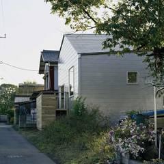 Casas de madera de estilo  por 前田工務店