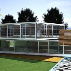 PROYECTO TROPICAL: Villas de estilo  por Goytia Ingenieria