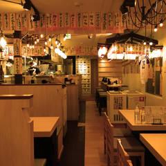 チバラキ酒場: 谷山武デザイン事務所が手掛けたレストランです。