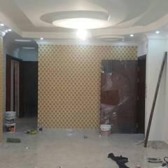Mrs. Samar's Appartment :  غرفة السفرة تنفيذ Etihad Constructio & Decor