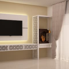 modern Living room by NVT Quality Build solution