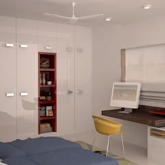 Wardrobe and study : modern Nursery/kid's room by NVT Quality Build solution
