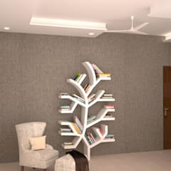 Reading area - Book shelf :  Study/office by NVT Quality Build solution