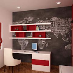 Kids Study Area: Nursery/kidu0027s Room By NVT Quality Build Solution
