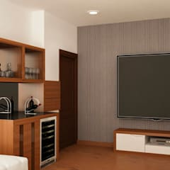 The Villagio:  Media room by NVT Quality Build solution
