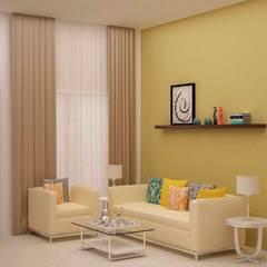 VK - Mr.Kiran:  Living room by NVT Quality Build solution