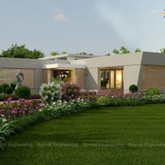 Exterior Designs:  Country house by Rayvat Engineering