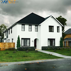 Exterior Designs:  Bungalow by Rayvat Engineering